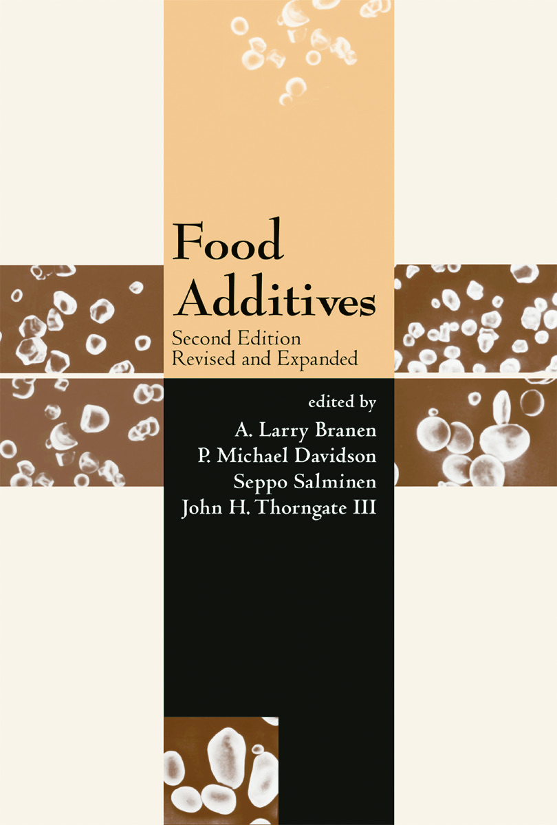 Food Additives: 2nd Edition (Hardback) book cover