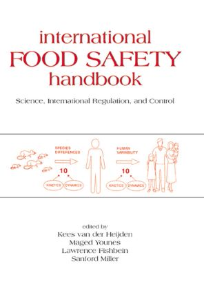 International Food Safety Handbook: Science, International Regulation, and Control, 1st Edition (Hardback) book cover
