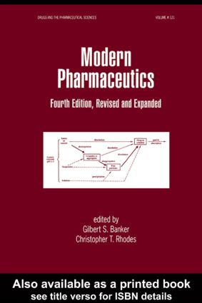 Modern Pharmaceutics, Fourth Edition Revised and Expanded: 4th Edition (e-Book) book cover