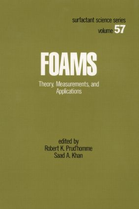 Foams: Theory: Measurements: Applications, 1st Edition (Hardback) book cover