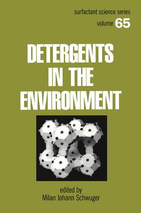 Detergents and the Environment