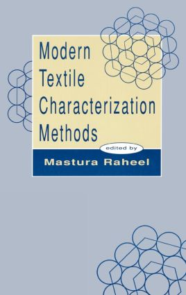 Modern Textile Characterization Methods book cover