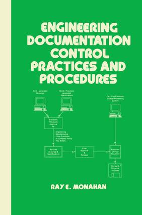 Engineering Documentation Control Practices & Procedures: 1st Edition (Hardback) book cover