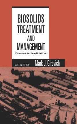 Biosolids Treatment and Management: Processes for Beneficial Use book cover