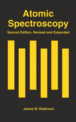 Atomic Spectroscopy, Second Edition,: 2nd Edition (Hardback) book cover