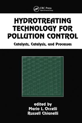 Hydrotreating Technology for Pollution Control: Catalysts, Catalysis, and Processes, 1st Edition (Hardback) book cover
