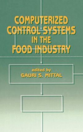 Computerized Control Systems in the Food Industry: 1st Edition (Hardback) book cover