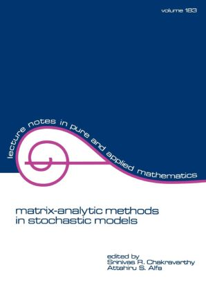 Matrix-Analytic Methods in Stochastic Models: 1st Edition (Paperback) book cover
