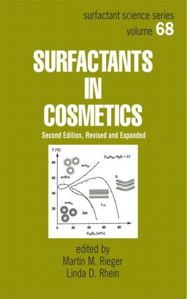 Surfactants in Cosmetics: 2nd Edition (Hardback) book cover