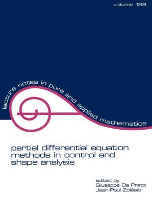 partial differential equation methods in control and shape analysis