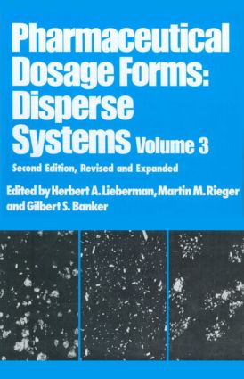 Pharmaceutical Dosage Forms: Disperse Systems, 2nd Edition (Hardback) book cover