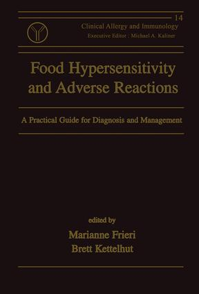 Food Hypersensitivity and Adverse Reactions: A Practical Guide for Diagnosis and Management book cover