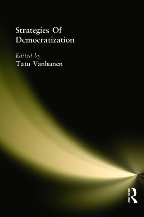 Strategies Of Democratization: 1st Edition (Paperback) book cover