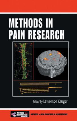 Methods in Pain Research: 1st Edition (Hardback) book cover
