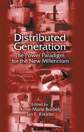 Distributed Generation: The Power Paradigm for the New Millennium (Hardback) book cover