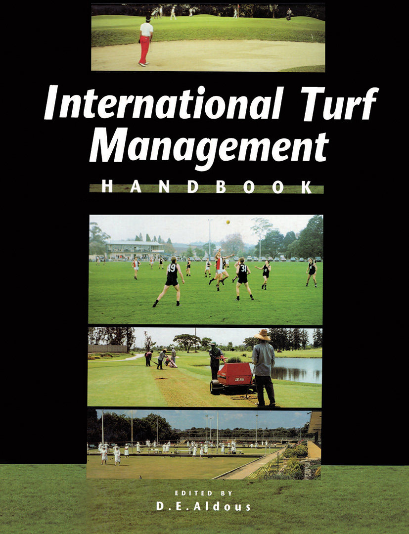 International Turf Management Handbook book cover