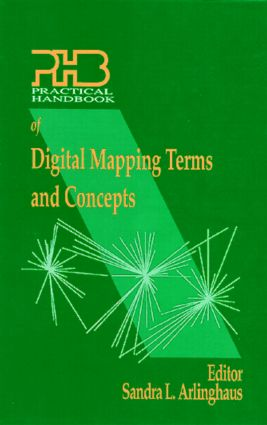 Practical Handbook of Digital Mapping Terms and Concepts: 1st Edition (Hardback) book cover