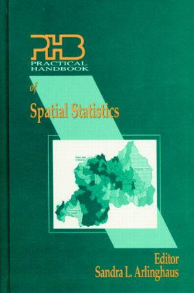 Practical Handbook of Spatial Statistics: 1st Edition (Hardback) book cover
