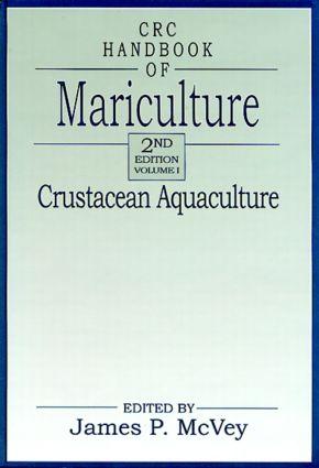 CRC Handbook of Mariculture, Volume I: Crustacean Aquaculture, Second Edition book cover
