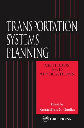 Transportation Systems Planning: Methods and Applications book cover