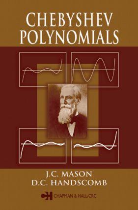 Chebyshev Polynomials: 1st Edition (Hardback) book cover