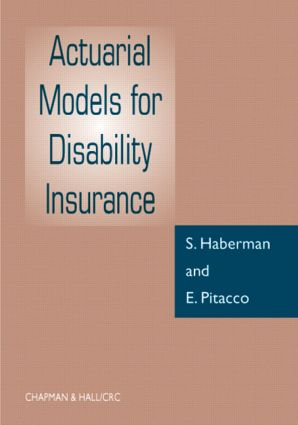 Actuarial Models for Disability Insurance: 1st Edition (Hardback) book cover