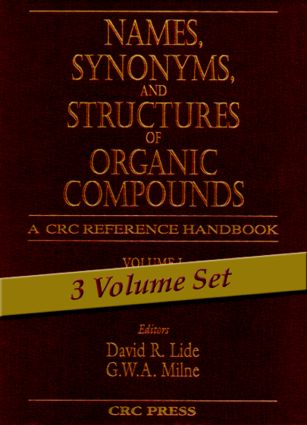 Names, Synonyms, and Structures of Organic Compounds: 1st Edition (Hardback) book cover