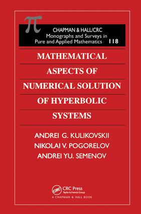 Mathematical Aspects of Numerical Solution of Hyperbolic Systems book cover
