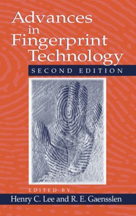 Advances in Fingerprint Technology, Second Edition: 2nd Edition (e-Book) book cover