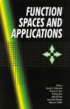 Function Spaces and Applications: 1st Edition (Hardback) book cover