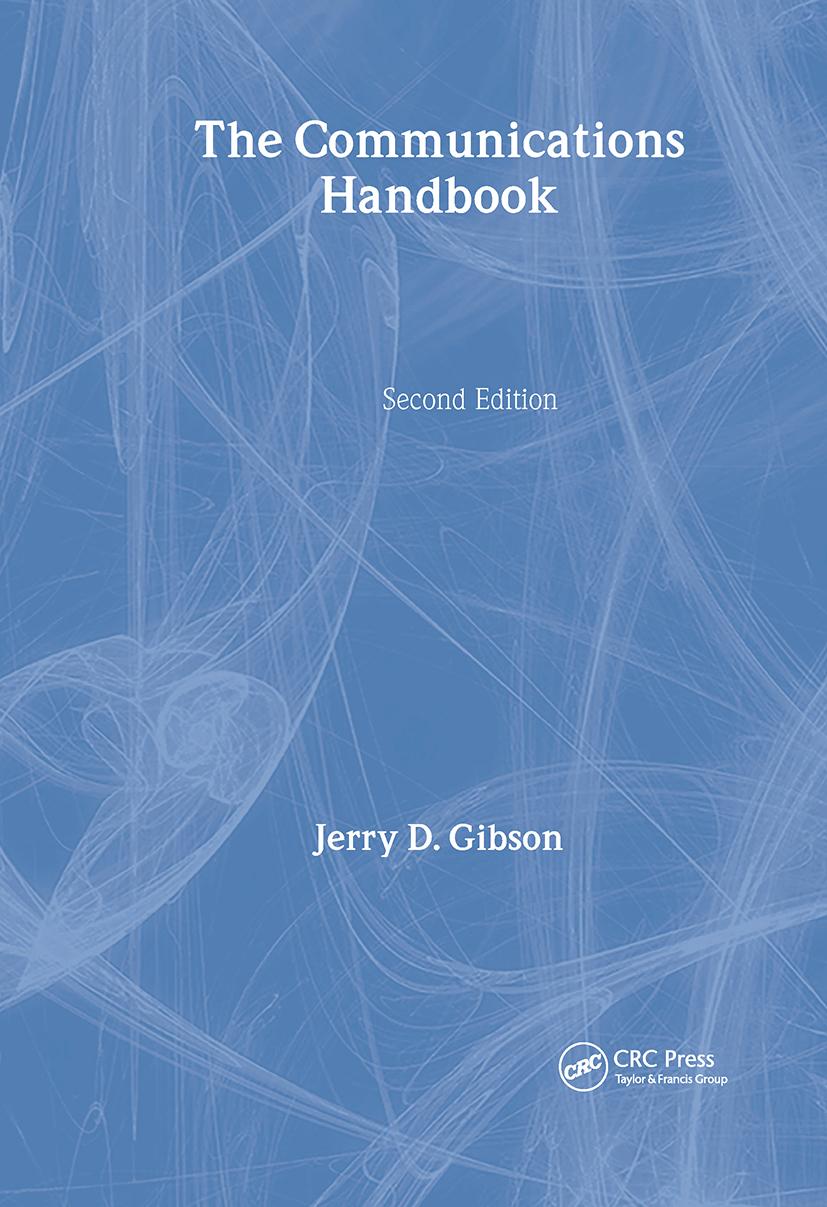The Communications Handbook: 2nd Edition (Hardback) book cover