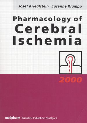 Pharmacology of Cerebral Ischemia: 1st Edition (Hardback) book cover