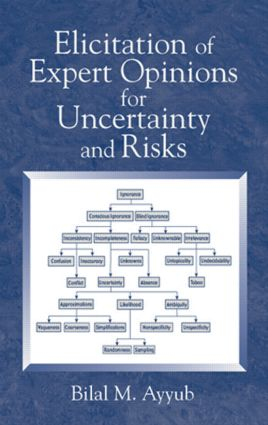 Elicitation of Expert Opinions for Uncertainty and Risks: 1st Edition (Hardback) book cover