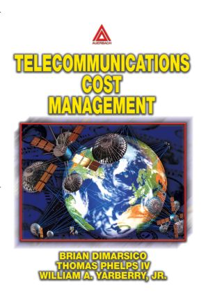 Telecommunications Cost Management: 1st Edition (Paperback) book cover
