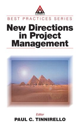 New Directions in Project Management: 1st Edition (Hardback) book cover