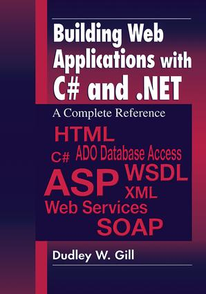 Building Web Applications with C# and .NET: A Complete Reference, 1st Edition (Paperback) book cover