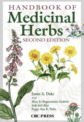 Handbook of Medicinal Herbs: 2nd Edition (Hardback) book cover