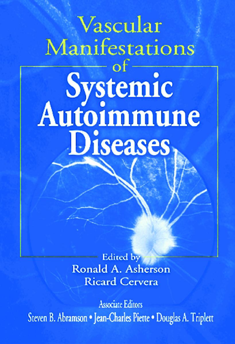 Vascular Manifestations of Systemic Autoimmune Diseases: 1st Edition (Hardback) book cover