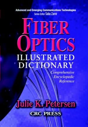 Fiber Optics Illustrated Dictionary book cover