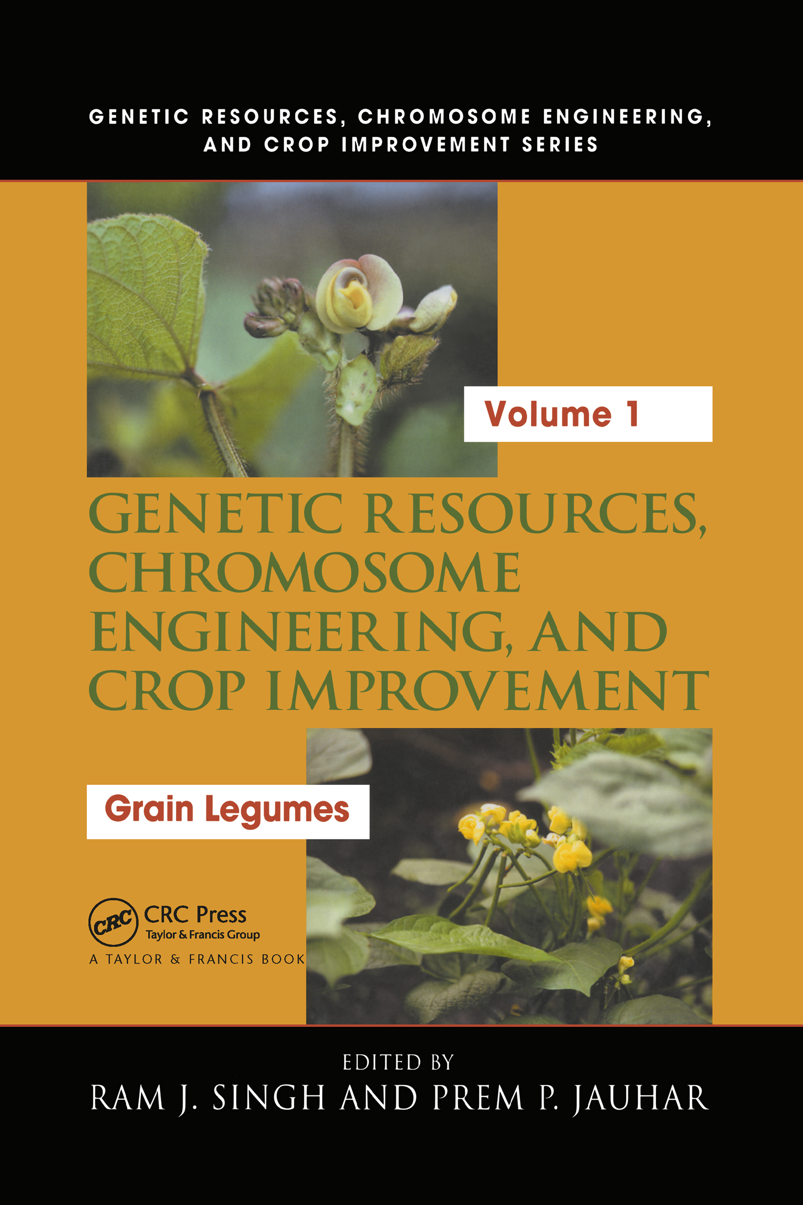 Genetic Resources, Chromosome Engineering, and Crop Improvement: Grain Legumes, Volume I, 1st Edition (Hardback) book cover