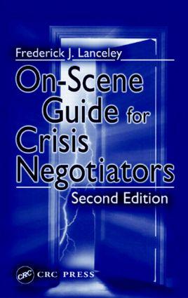 On-Scene Guide for Crisis Negotiators book cover