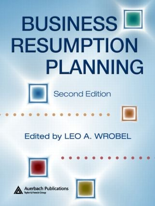 Business Resumption Planning: 2nd Edition (Hardback) book cover