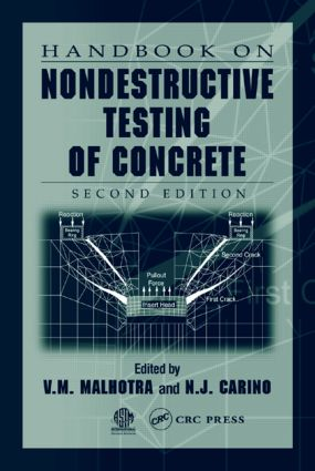 Handbook on Nondestructive Testing of Concrete: 2nd Edition (Hardback) book cover