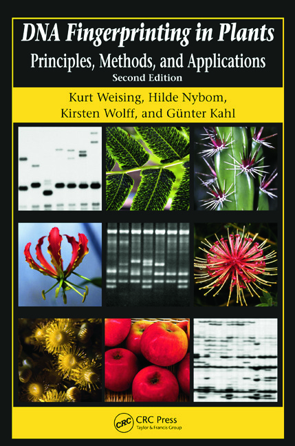 DNA Fingerprinting in Plants: Principles, Methods, and Applications, Second Edition, 2nd Edition (Paperback) book cover