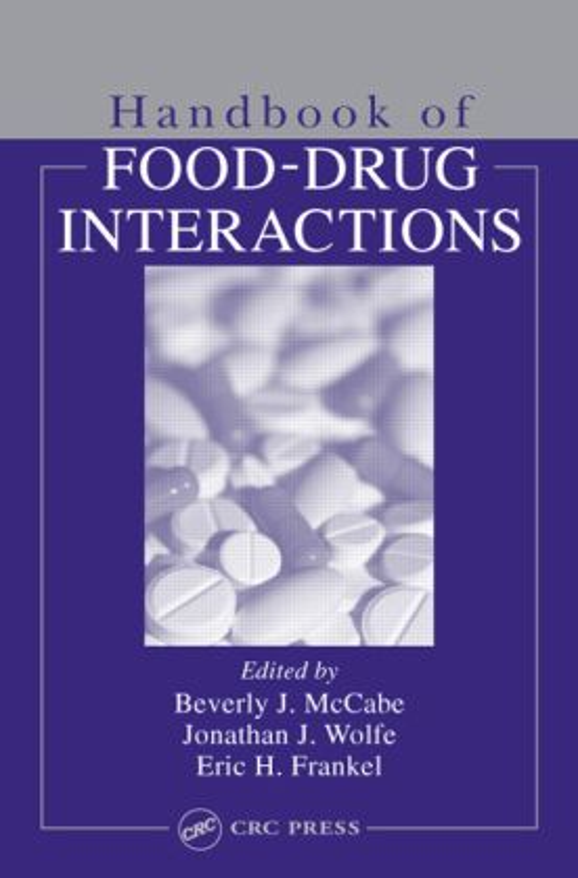 Handbook of Food-Drug Interactions: 1st Edition (Hardback) book cover