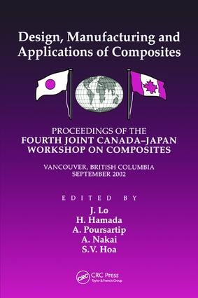 Fourth Canada-Japan Workshop on Composites: 1st Edition (Paperback) book cover