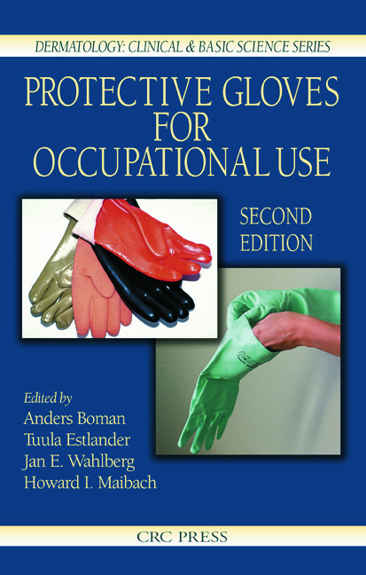 Protective Gloves for Occupational Use, Second Edition: 2nd Edition (Hardback) book cover