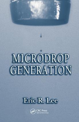 Microdrop Generation: 1st Edition (Hardback) book cover