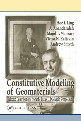 Frank L. Di Maggio Symposium on Constitutive Modeling of Geomaterials June 3-5 2002: 1st Edition (Hardback) book cover