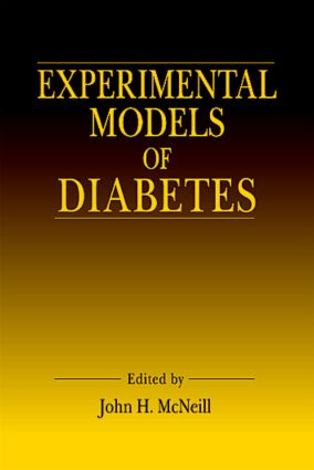 Experimental Models of Diabetes: 1st Edition (Hardback) book cover